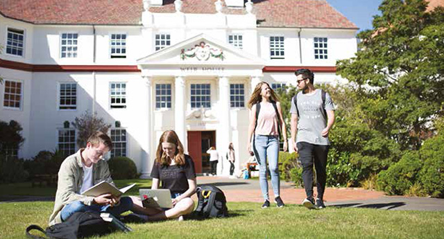 VICTORIA UNIVERSITY OF WELLINGTON ヴィクトリア大学